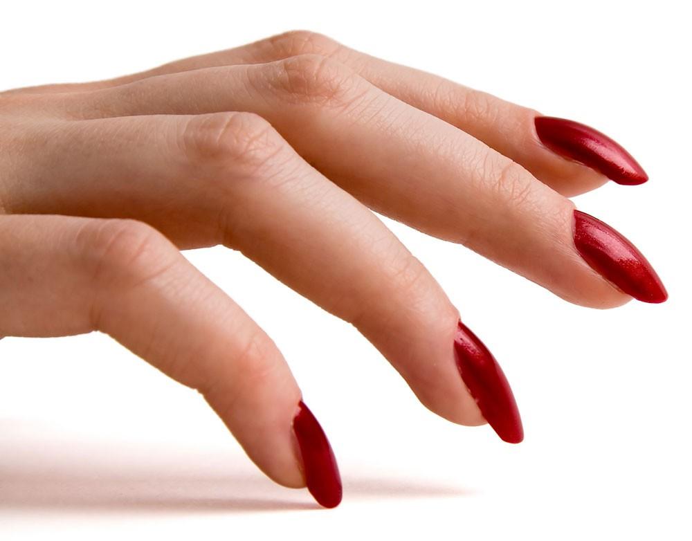 Если ногти красноватые