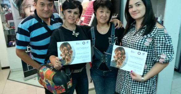 Современные техники окрашивания – тренинг для колористов KEEN в Ташкенте